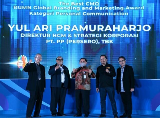 PTPP Raih Penghargaan BUMN Branding & Marketing Awards