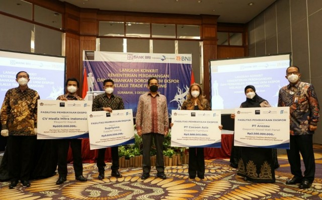 LPEI Realisasikan Fasilitas Program PEN ke UKM Ekspor Rp9,5 Miliar