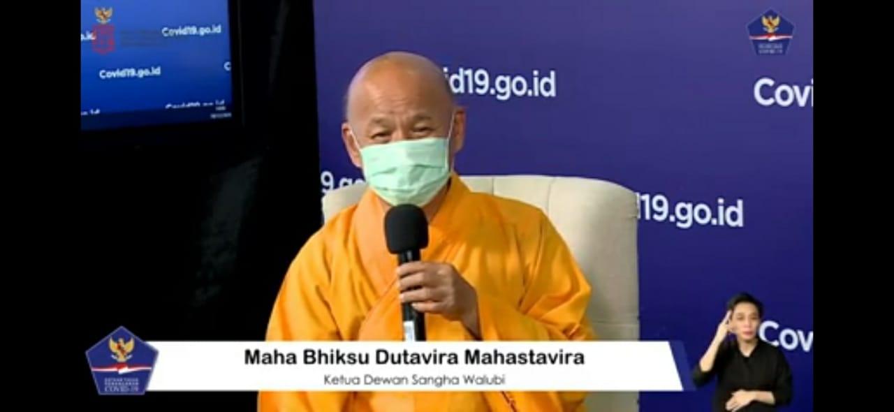Maha Bhiksu Dutavira: Patuhi 3M Bukti Cerdas Menyikapi Hidup