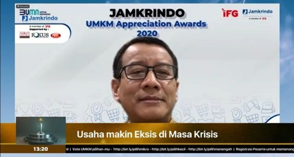 Jamkrindo Jamin Rp9,34 Triliun Kredit Modal Kerja PEN