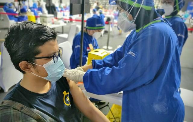 Kemenkes Pastikan Vaksinasi Tetap Jalan Selama Bulan Ramadhan