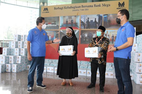 MEGA Mega Peduli Bagikan 20 Ribu Paket Sembako | Infobanknews