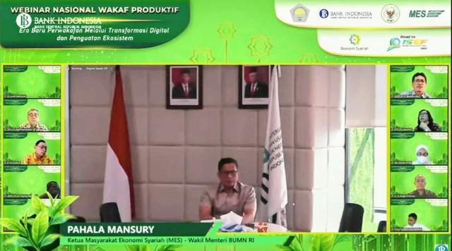 Wamen BUMN: Volume Transaksi Wakaf BSI Masih Rendah