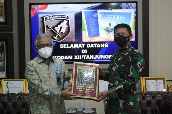 BTN Audiensi ke Pangdam Tanjungpura