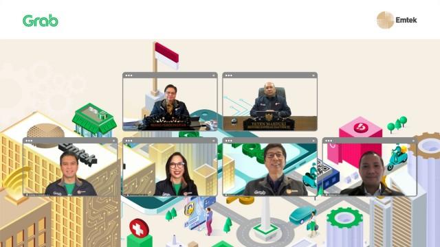 Kolaborasi Grab dan Emtek Dorong Transformasi Digital UMKM
