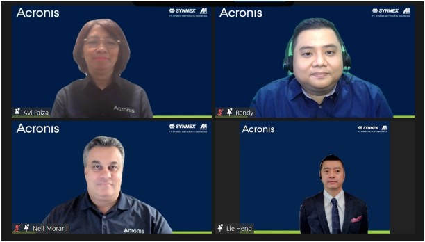 MTDL Acronis Gandeng Synnex Metrodata Hadirkan Cyber Cloud Data Center | Infobanknews