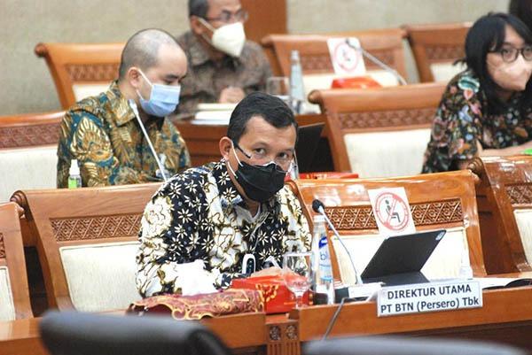 BBTN Dirut BTN Beri Penjelasan Komisi VI DPR RI – Infobanknews