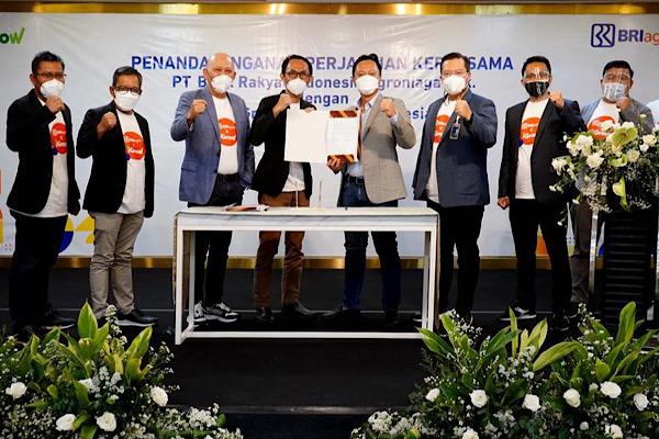 AGRO BRI Agro Gandeng Anak Usaha Link Aja, iGrow – Infobanknews